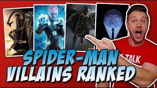 All 16 Spider-Man Movie Villains Ranked!