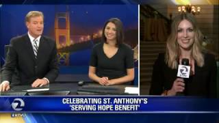 KTVU Fox 2 Covers St. Anthony's Serving Hope Benefit