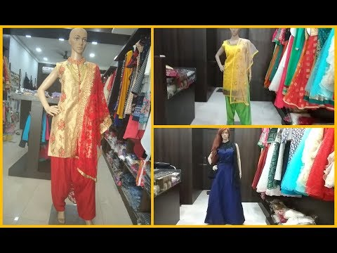 LATEST DESIGN OF GOWN & PATIYALA SUITS!! POSH PREMIUM FASHION