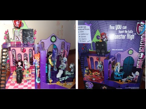 Monster High: Review du Lycée Monster High.
