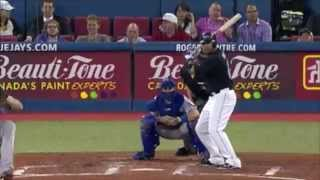 Vernon Wells Hits A Home Run Into the 4th Deck of Rogers Centre