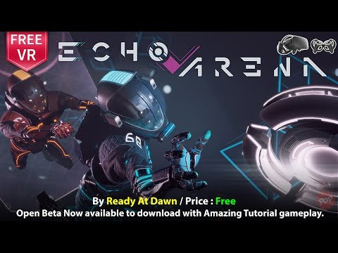 Echo Arena Open Beta Oculus Rift First Impression Tutorial gameplay (Free)