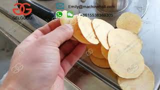 Stainless Steel Sweet Potato Chips Cutting Machine丨How To Cut Sweet Potato Chips Easily