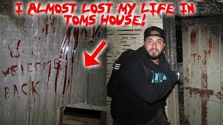 I ALMOST LOST MY LIFE IN TOMS HAUNTED HOUSE! *EXTREMELY SCARY* | MOE SARGI