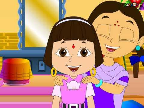 Kanthula Kallu    Telugu Animated Nursery Rhymes video
