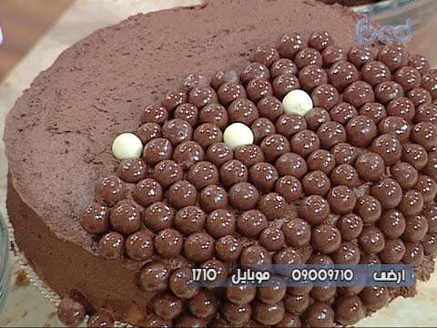 تورته الشوكولاته البسيطه على طريقة الشيف #هاله_فهمي من برنامج #البلدى_يوكل #فوود