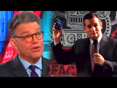 Al Franken Explains The Internet & It's Ted Cruz's Worst Nightmare
