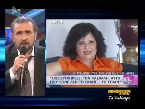 Xronia Al Tsantiri News � LAZOPOULOS Best Of [12: 02: 2013] APLHA TV / FULL VIDEO
