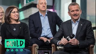 Interview with executive producers Jane Root and Arif Nurmohamed, and astronauts Chris Hadfield, Nicole Stott, Michael J. Massimino, and Jerry Linenger (BUILD series)