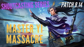 PERFECT GAME MASTER YI & THE ASHE ARROW | LEAGUE OF LEGENDS GAME PLAY & SHOUTCAST | TRUE NORTH KOALA
