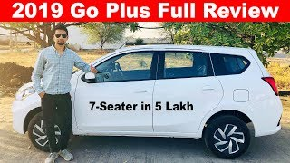 2019 Datsun Go Plus Full Review 🔥Aayushssm