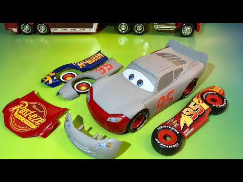 Disney pixar cars lightning mcqueen race and change primer fabulous lightning mcqueen