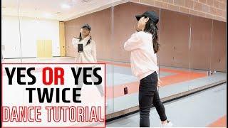 """TWICE """"YES or YES"""" Lisa Rhee Dance Tutorial"""