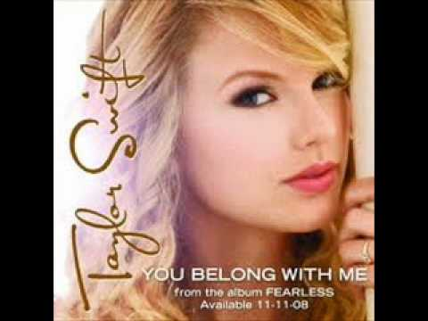 Taylor Swift You Belong With Me (Audio)