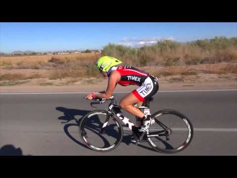 Kelly Fillnow, Bike Course, 2012 Ironman Arizona (Timex Multisport Team)