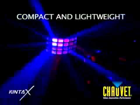 Chauvet Kinta X LED Derby Light demo