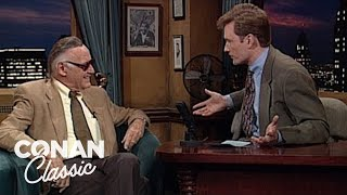 "Stan Lee On ""Late Night With Conan O'Brien"" 11/17/95"