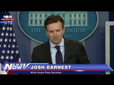 "FNN: Josh Earnest Calls Donald Trump Out on ""Fake Hair"""