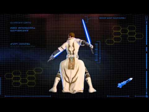 Star Wars: The Old Republic - Jedi Knight Progression Video