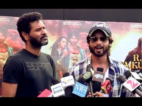Shahid Kapoor & Prabhu Dheva Visit Chandan Cinema - R...Rajkumar