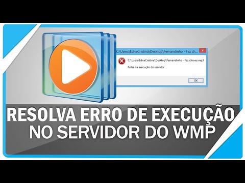 Como solucionar erro de falha na execução do Windows Media Player