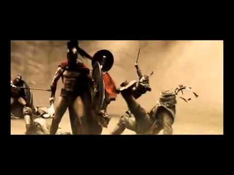 300 Спартанцев - клип