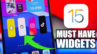 Best iOS 15 WIDGETS - You Must Have !