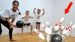 KIDS GIANT BOWLING CHALLENGE toys for kids