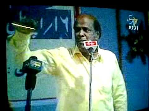 Rahat Indori At  Katihar Mushaira video