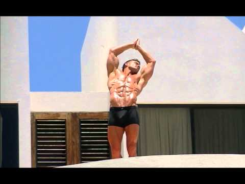 Physique Cover Model David Kimmerle Shooting In Anguilla