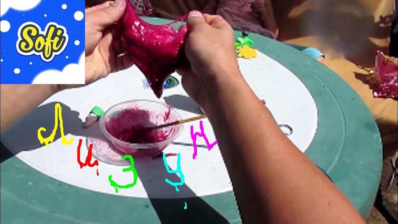 Опыт лизун своими руками 30