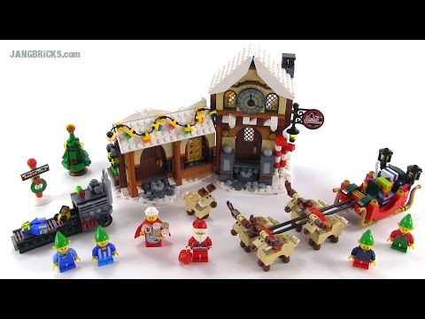 LEGO Creator 10245 Santa's Workshop 2014 set review!