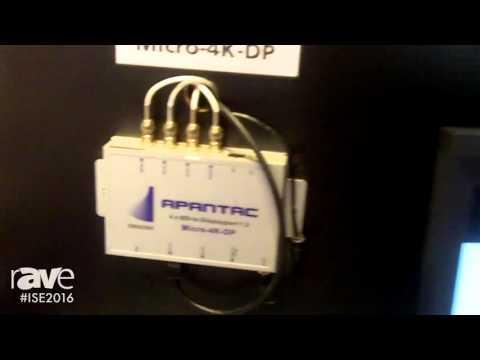 ISE 2016: Apantac Highlights Micro-4K-DP 4K UHD Displayport