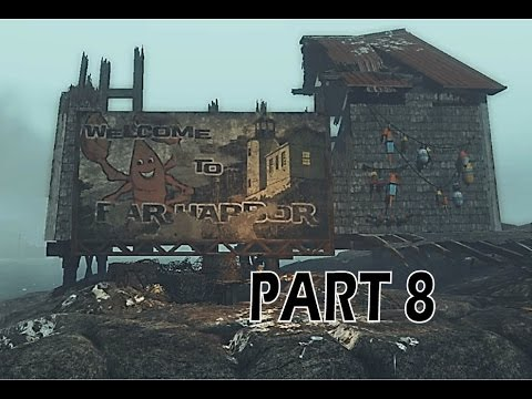 Part 8 Far Harbor Fallout 4 Let's Play | Cliff's Edge Hotel