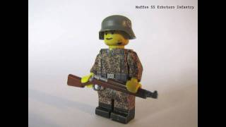 Lego ww2 Uniforms and Equipment Part2