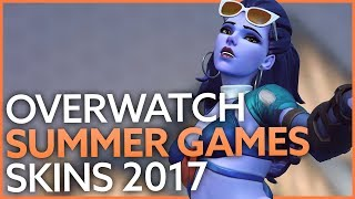 Overwatch Summer Games 2017 skins, voice lines, sprays and all cosmetics