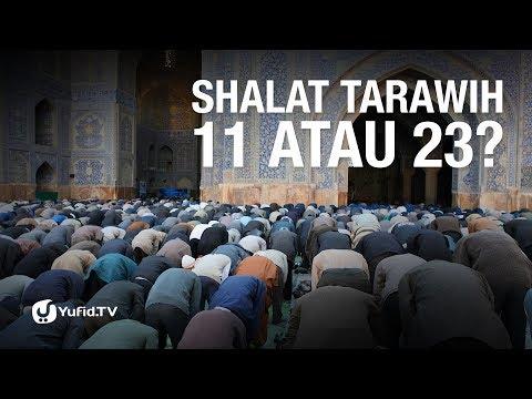 Shalat Tarawih 11 atau 23 Rakaat?