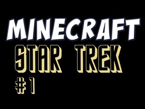 Minecraft - Star Trek Custom Map Part 1