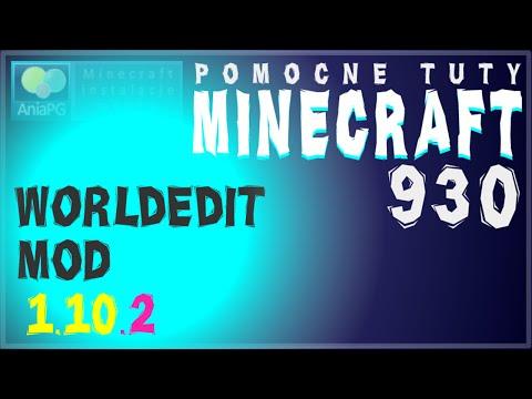 WorldEdit 1.10.2 - Jak Zainstalować Mody - PL Instalacja Moda Do Minecraft 1.10.2