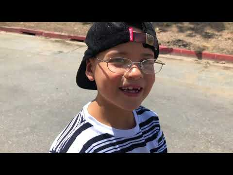 7 YEAR OLD SKATES HUGE DOUBLE SET !!! Feat. Jr Gutierrez - NKA VIDS -