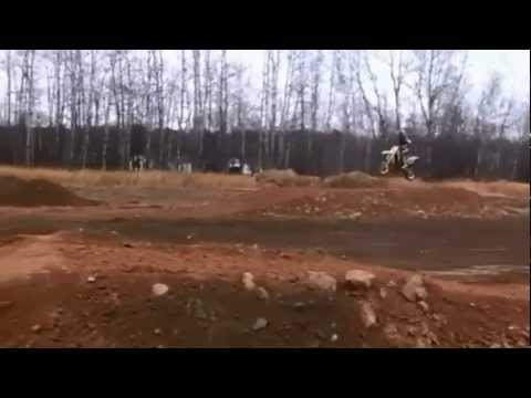 12 year old girl riding dirt bike