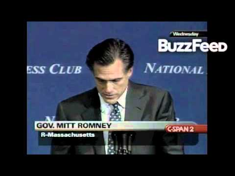 Mitt Romney in 2004 Attacks John Kerry for Flip Flopping