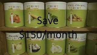 Save $150/Month on Groceries with Thrive Foods
