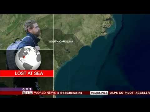 An American lost at sea found after sixty-six days Louis Jordan