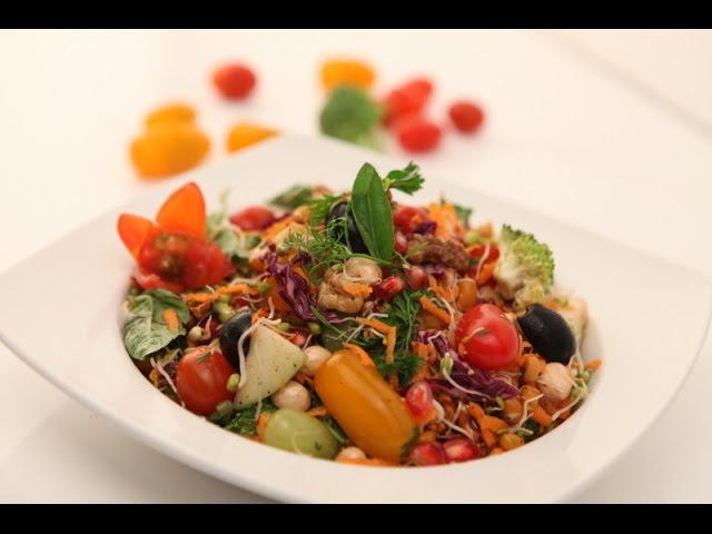 sddefault Potato And Pomegranate Salad   By Chef Sanjay Thumma