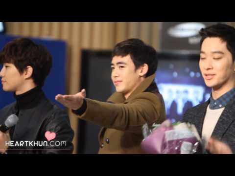 [닉쿤직캠]20121218 Samsung Medical Center JYPE Charity Concert  Nichkhun Preview