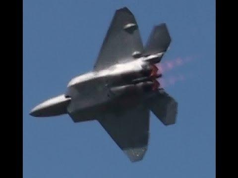 The BEST F-22 Raptor demo! *FULL SCREEN HD*