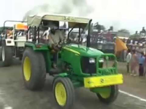 Swaraj mahla 855 vs Johndeer 5055 E (Full video)