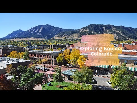 Exploring Boulder, Colorado