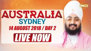 Live Streaming | 🇦🇺AUSTRALIA TOUR 🇦🇺| Sydney | Day 2 | 14 Aug 2018 | Dhadrianwale